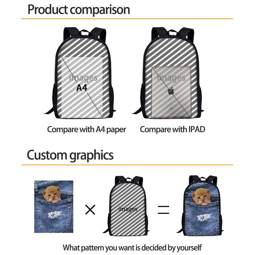 Awesome Forudesigns Backpacks Ny Cat Reflection Tiger Printed Children Backpackgirls Boys Orthopedic School Supplies Mochila Backpacks Fromluggage Forudesigns Backpacks Ny Cat Reflection Tiger Printed baby Backpacks For Girls