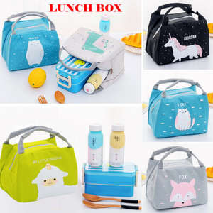 Portable Animal Thermal Insulated Cooler Waterproof Picnic Lunch Box Bag Pouch