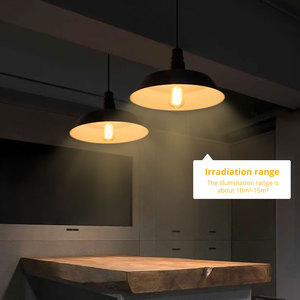 Image 5 - ASCELINA American Loft Pendant lights single head restaurant bar lighting colorful Pendant lamp Metal Home Lighting Luminarias