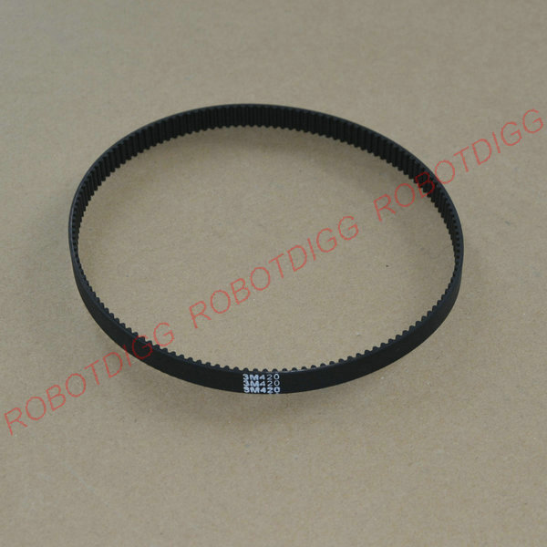 HTD 3M, Timing Belt, Closed-loop, 420mm length, 140 teeth, 6mm widthHTD 3M, Timing Belt, Closed-loop, 420mm length, 140 teeth, 6mm width