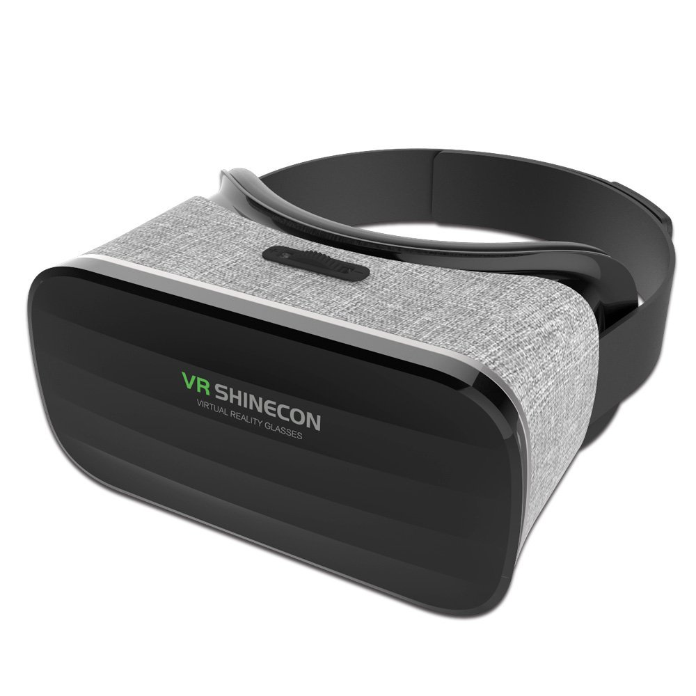 VR Shinecon Glasses 3D Immersive Virtual Reality Glasses Cardboard Wearable VR Box Headset for 4.3-6.0 inch Smartphone