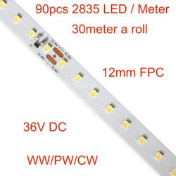 36V Konstante strom LED Flexible Streifen Licht, 10 m, 20 m, 30m eine rolle