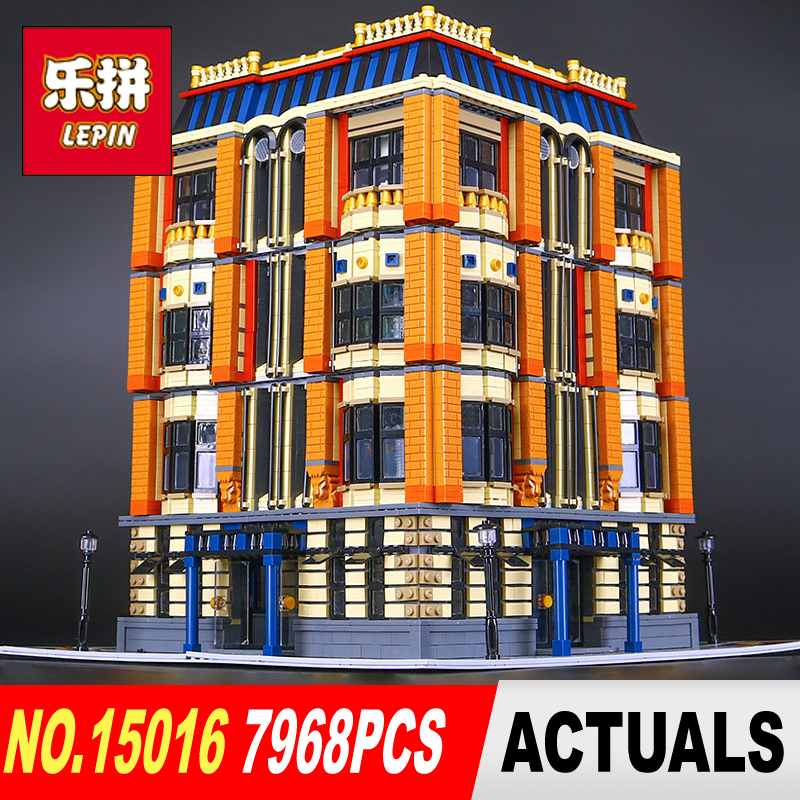 Free shipping DHL New 7968Pcs Lepin 15016 Genuine MOC Creative Series The Apple University Set Building Blocks Bricks Toys brand new s262dc b32 6pcs set with free dhl ems