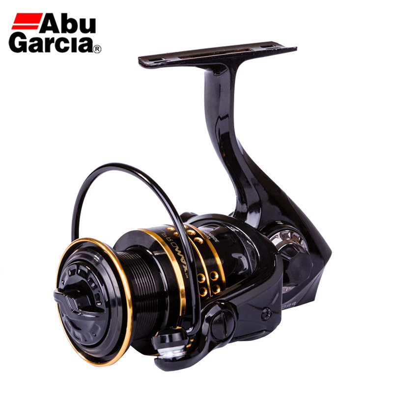 ABU GARCIA PRO MAX Spinning Fishing Reel 6+1 Ball Bearing 5.1/5.2:1 Gear Ratio Fresh&Saltwater Fishing Reel PMAXSP 1000-4000 Ser все цены