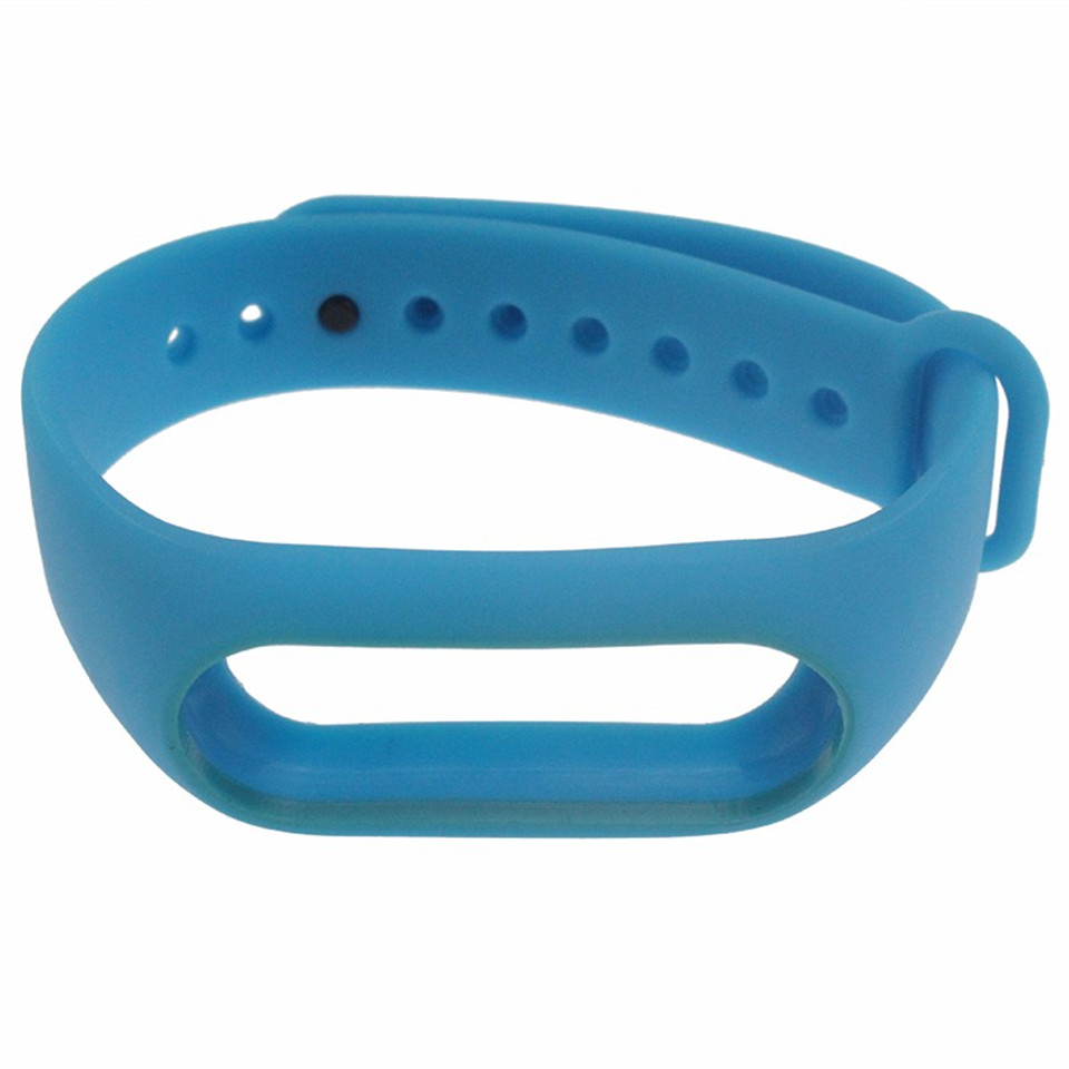 Teyo Colorful Wristband For Xiaomi Mi Band 2 Smart Accessories Replacement Silicon Strap For Xiaomi MiBand 2 Durable Anti Lost 14