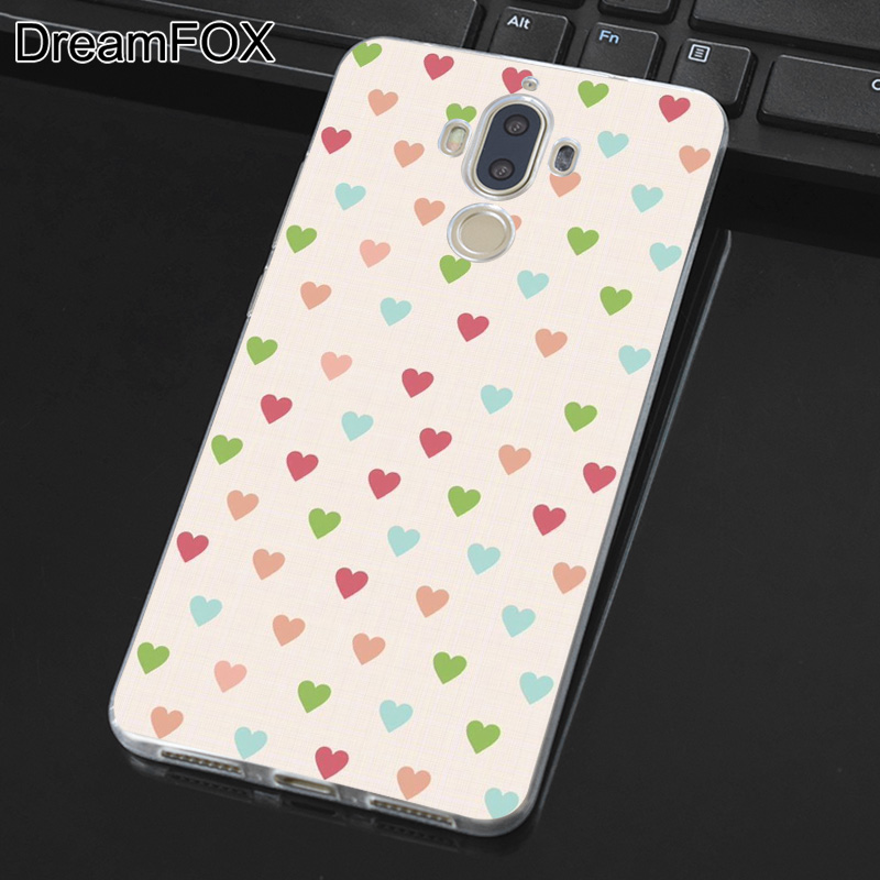 DREAMFOX M277 Polka Dots Line Soft TPU Silicone Cover Case For Huawei Mate 8 9 10 20 Lite Pro in Fitted Cases from Cellphones Telecommunications