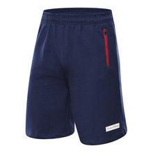 NEW 2017 brand cotton gym sport gym running short basketball shorts bermuda masculina mens fitness zipper pocket tennis shorts drawstring side pocket bermuda shorts