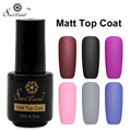 Saviland 1pcs Cleaning Matt Top Coat Nail Gel Polish Soak Off UV Gel Nails Tools Long Lasting Gel Lacquer Matt Top Gel