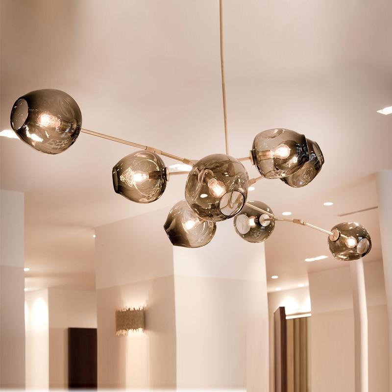 Lindsey Adelman Globe Ramification Bulle Lustre 110 v 220 v Moderne Lustre Lumière Éclairage - 5