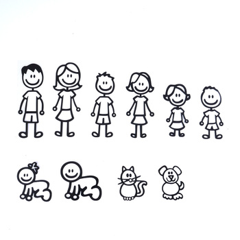 My Family Members 10Pcs/Lot