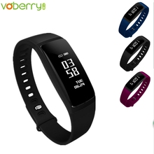 Smartband Bluetooth Fitness Blood Pressure V07 Smart Wristband Pedometer Smart Bracelet Heart Rate Monitor For Android IOS 39