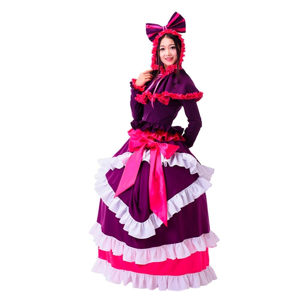 Custom Made Anime Overlord Season 2 Shalltear Bloodfallen Cosplay Costume Women Wedding Dress