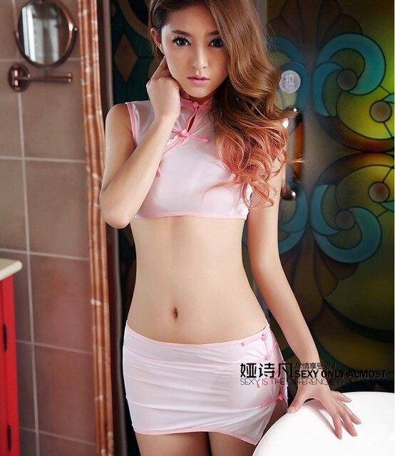 New Oriental Classical Lingerie Temptation Womans Cheongsam Sexy Pajamas Nightclub Ds Costumes Sl1582630