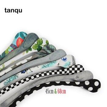 цена на tanqu New Short Long Round Canvas Fabric Handle for Obag Classic Mini O Bag Women's Bags Shoulder Handbag