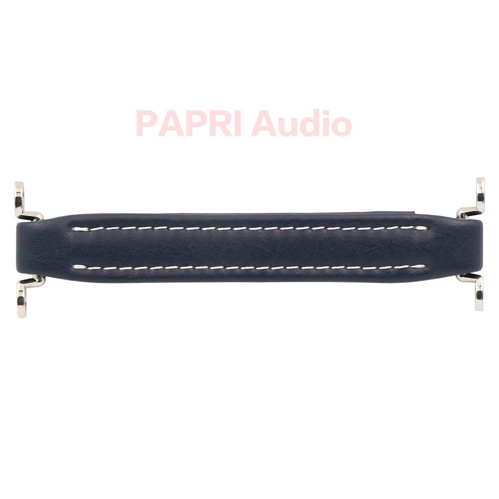 PAPRI BLUE Vintage Guitar Amplifier Leather Handle For Speaker Cabinet Instrument Fender Ampeg Vox AH3/AH2 Lot/1PCS