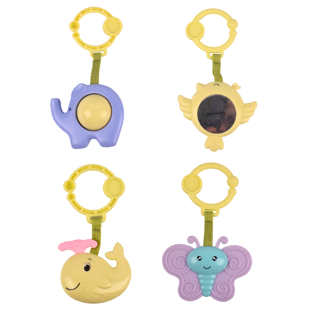 Baby Mobile Animal Toy Infant Rattles Crab Design Hand Bell Teether Noise Educational New Born Toys