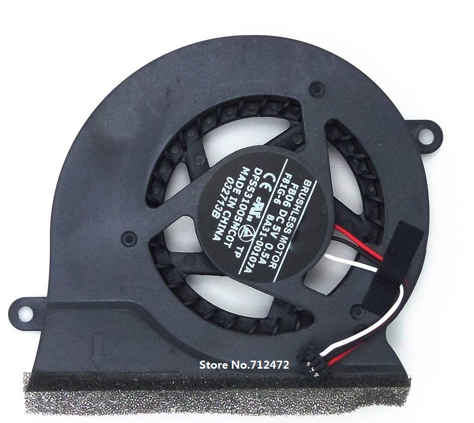 SSEA New CPU Fan for SAMSUNG NP200A4B NP300 NP300E4A NP305E5A NP300V4A-S04 NP300V5A Cooler Fan DFS531005MC0T FB06 BA31-00107B