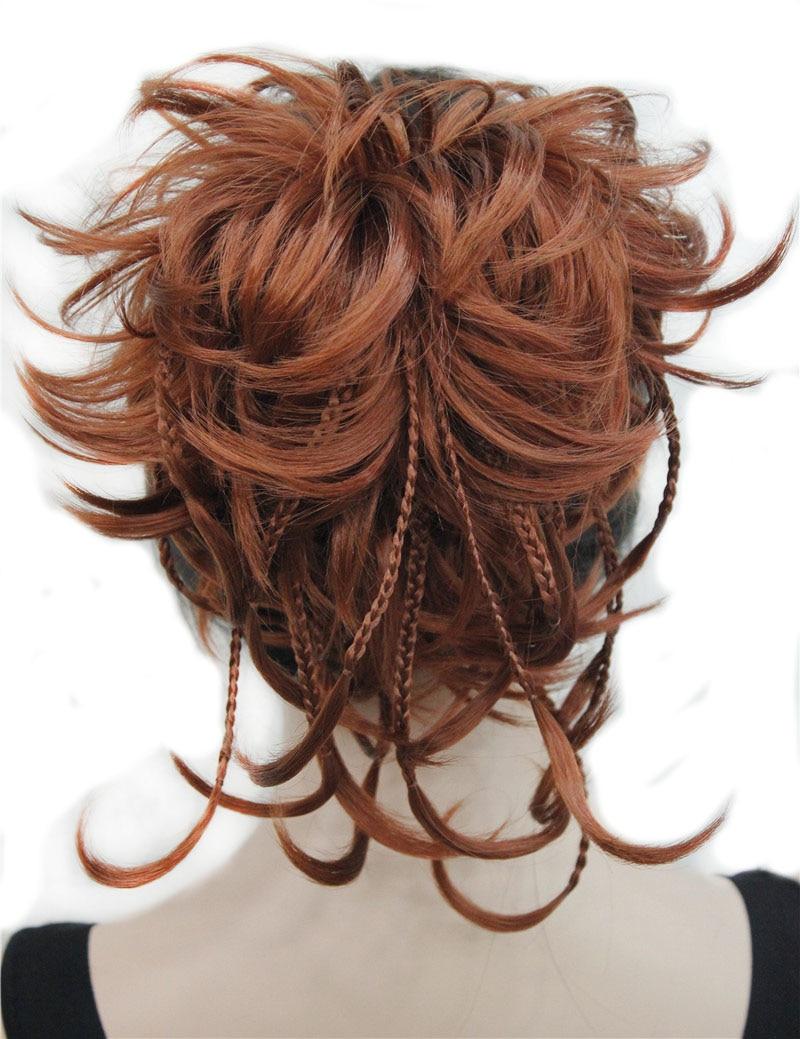 StrongBeauty синтетические волосы «сделай сам» красные Светлые Коричневые черные оплетки на шнурке для прически «конский хвост» удлинители воло...