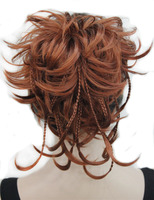 StrongBeauty Synthetic DIY Hair Red Blonde Brown Black Braid Drawstring Ponytail Clip In On Hair Extensions
