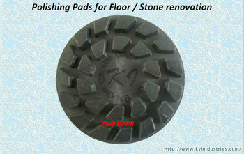"4"" Soft Polishing Pads for Concrete Floor / Granite & Marble Stone Renovation"