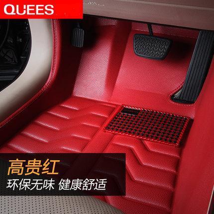Car Floor Mats Covers top grade scratch resistant  fire resistant durable waterproof 5D  senior  mat for LAN ROVER, ,Styling