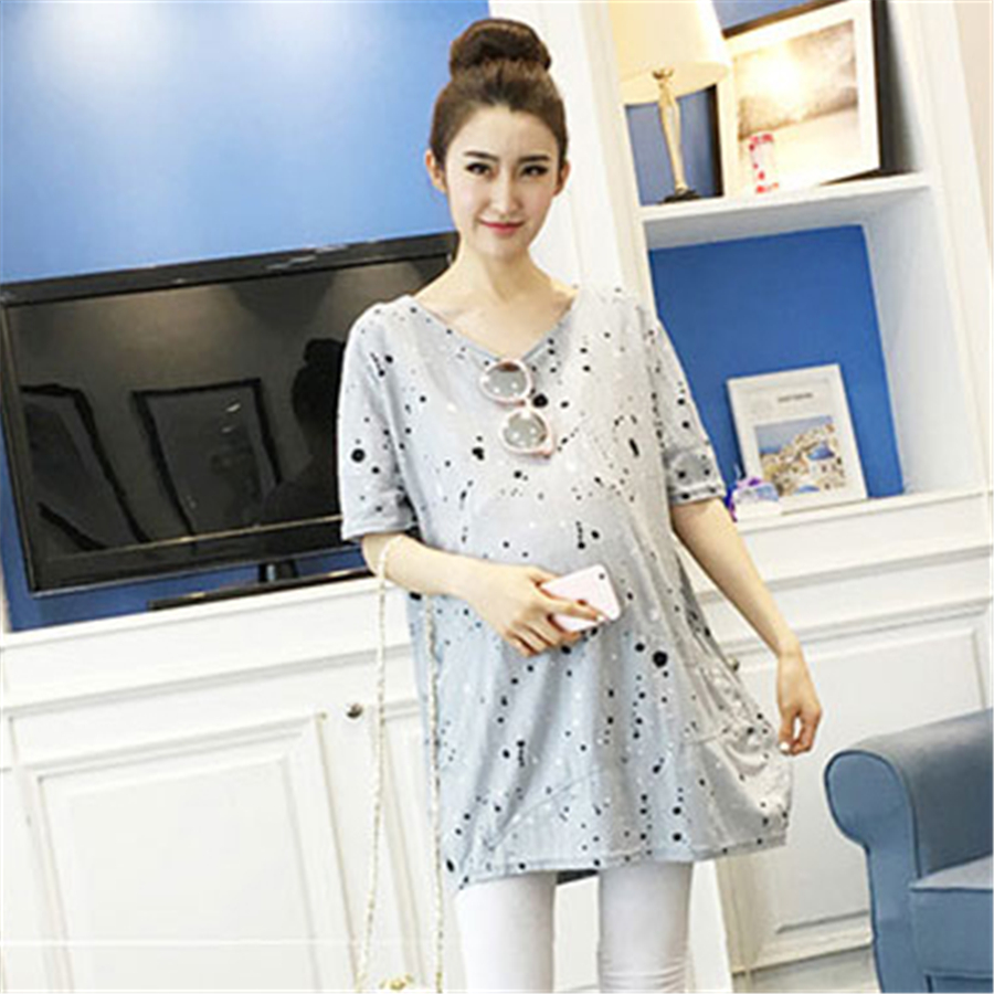 2400ad604 Maternity Clothes For Pregnant Women T Shirts Hamile Giyim Nursing Top Saida  Maternidade Ropa Maternal Maternidad Blusas 70Z1023-in Tees from Mother    Kids ...