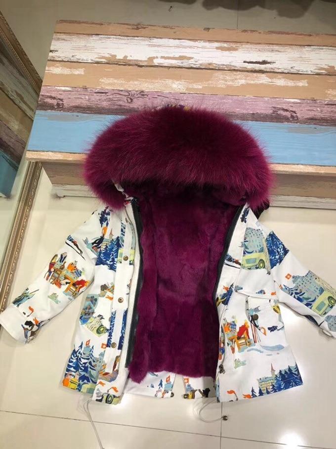 child winter real fur parkas coat (33)