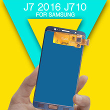 Replacements LCD screen j7 2016 display screen for repairing LCD screen digitizer assembly J710 J710F J710M J710H J710FN