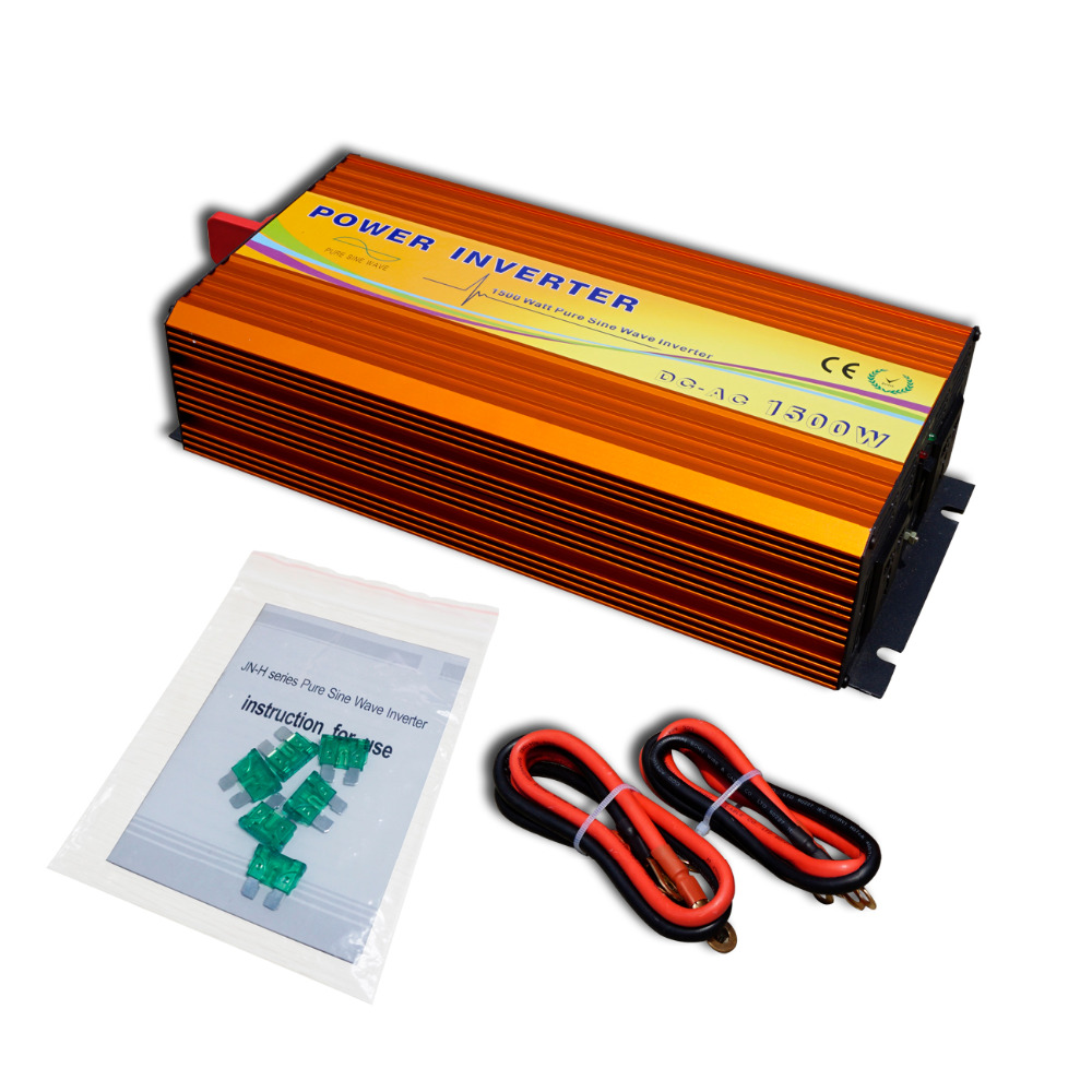 цена на ECO-SOURCES 1500W Inverter 24V to 220V Off Grid Inverter 1.5KW 220V Inverter for Solar Panel Solar System