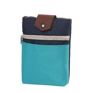 Многофункциональная сумка для паспорта, кошелек для кредитных карт, мобильный телефон, шея, подвесной, Противоугонный, унисекс, Холщовый Де...