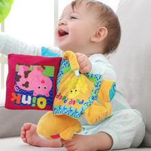 Baby Cloth Book Early Learning Educational Toys Baby & Toddler Toys English Story Soft Development Baby Books Toys & Hobbies недорого