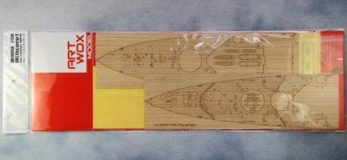 Le nouveau ARTWOX 78010 George V cuirassé 3 M Tamiya pont AM10005A PE bois peinture film