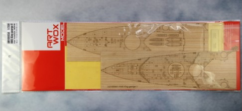 The new ARTWOX 78010 George V battleship 3M Tamiya deck AM10005A PE wood paint film ba904 academy wwii german artwox battleship bismarck wood deck aw10047
