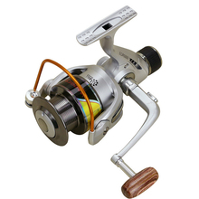 2016 New Arrival Fishing Reel Pre-Loading Spinning Wheel 5.2:1 5.5:1 225/475g 2000/7000S 12 BB Sliver Metal Fresh Salt Water