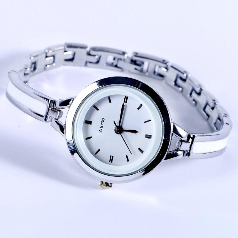 Women Girls Relojes Luxury Analog Display Quartz Relogio Guld Silver - Damklockor - Foto 3