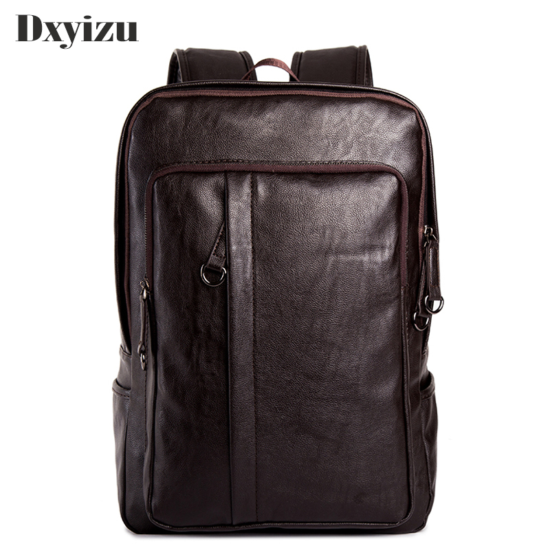 Men's Backpack Men Genuine Leather Backpack For Teenagers Casual Men Backpacks Large Capacity Laptop Backpack Luxury Travel Bags