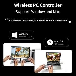 Image 5 - DATEN FROSCH Retro Video Spiel Konsole 8 Bit Gebaut in 1400 Klassische Spiele Mini Drahtlose Konsole Unterstützung AV/HDMI ausgang Dual Gamepads