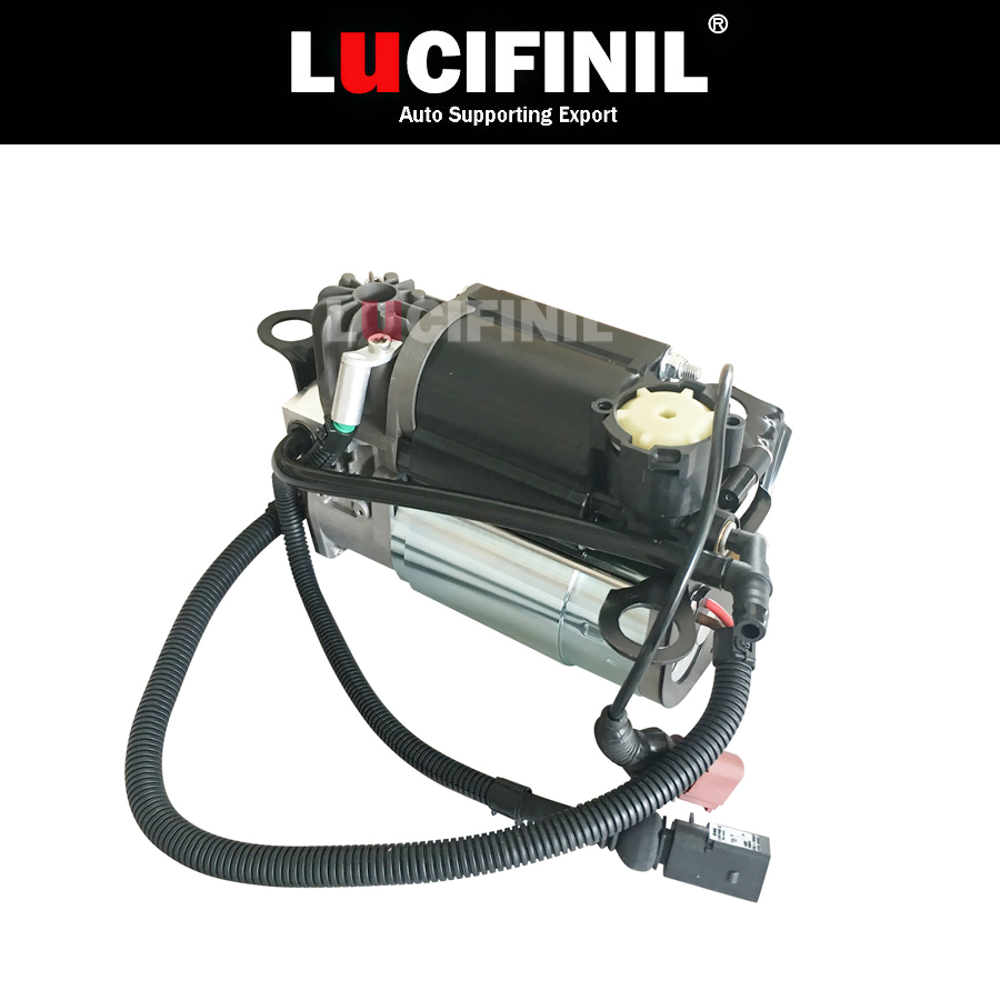 LuCIFINIL New 4E0616007A Fit <font><b>Audi</b></font> <font><b>A8</b></font> <font><b>D3</b></font> <font><b>4E</b></font> 12S Diesel Air Suspension Compressor Pump 4E0616005E 12Cylinder image