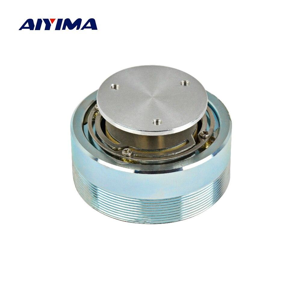 AIYIMA Áudio Mini Speaker Portátil Coluna 44/50 MILÍMETROS Full Range Alto-falantes de Ressonância Vibration Speaker Altavoz Portatil Para Computador