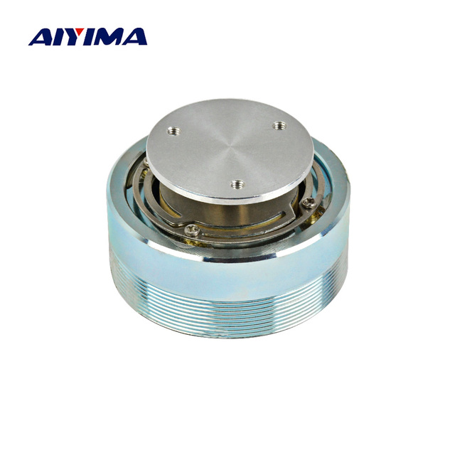 AIYIMA Mini Audio portátil Altavoz columna/44/50 MM de gama completa vibración Altavoz portátil de resonancia altavoces para computadora