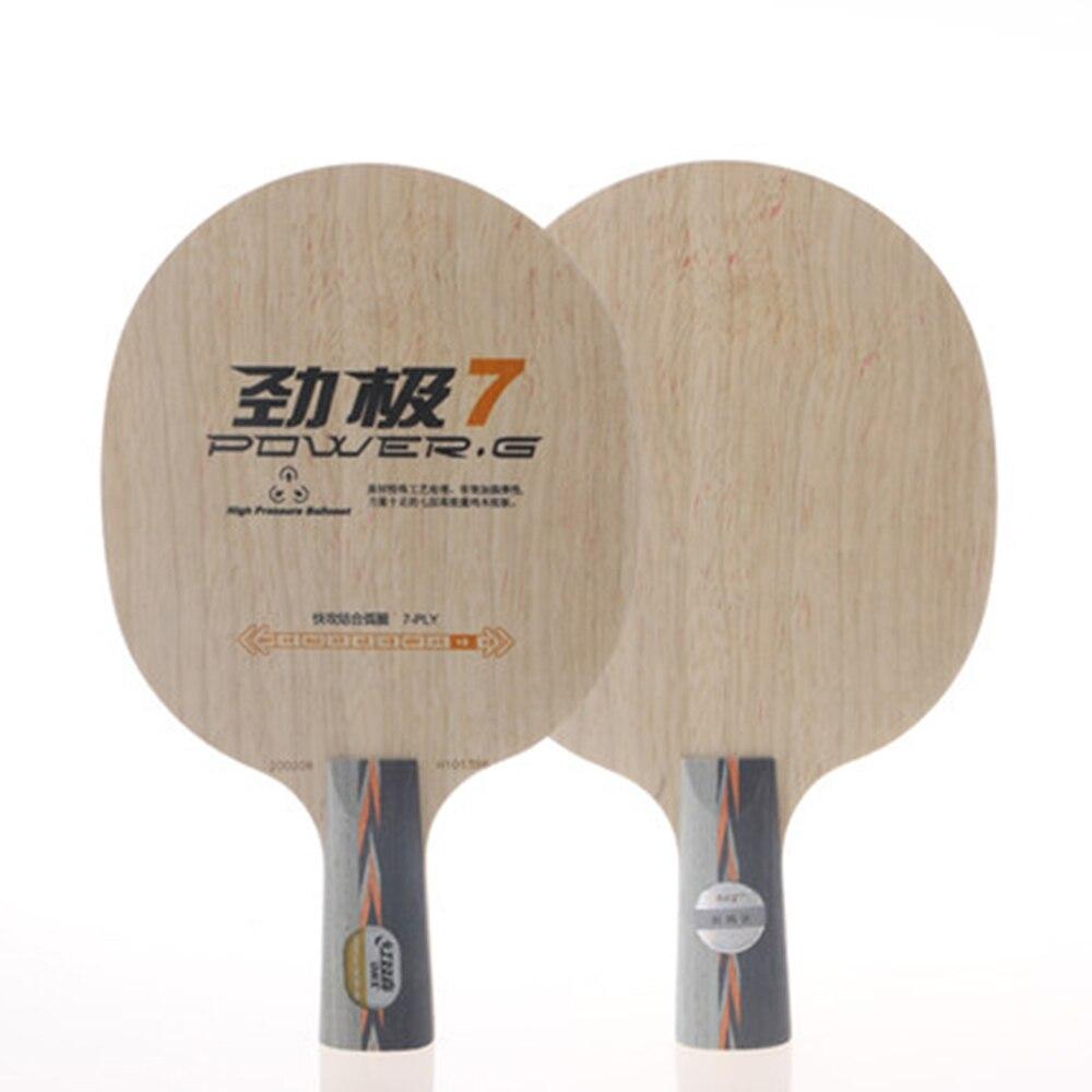 все цены на Original DHS Power G7(PG7, PG 7) pure wood new table tennis blade DHS blade for table tennis racket racquet sports онлайн