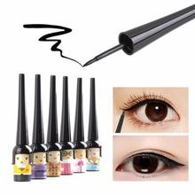 Cute Lovely Doll Style Waterproof Liquid Eyeliner Pen Liner Black Eyeliner Gel Beauty