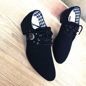 Jazz Noble Shoes For Men Version Code Shoes Man Zapatos De Baile Latin Dance Shoes Male Banquet Dance Ttop Shoes Canvas(China)