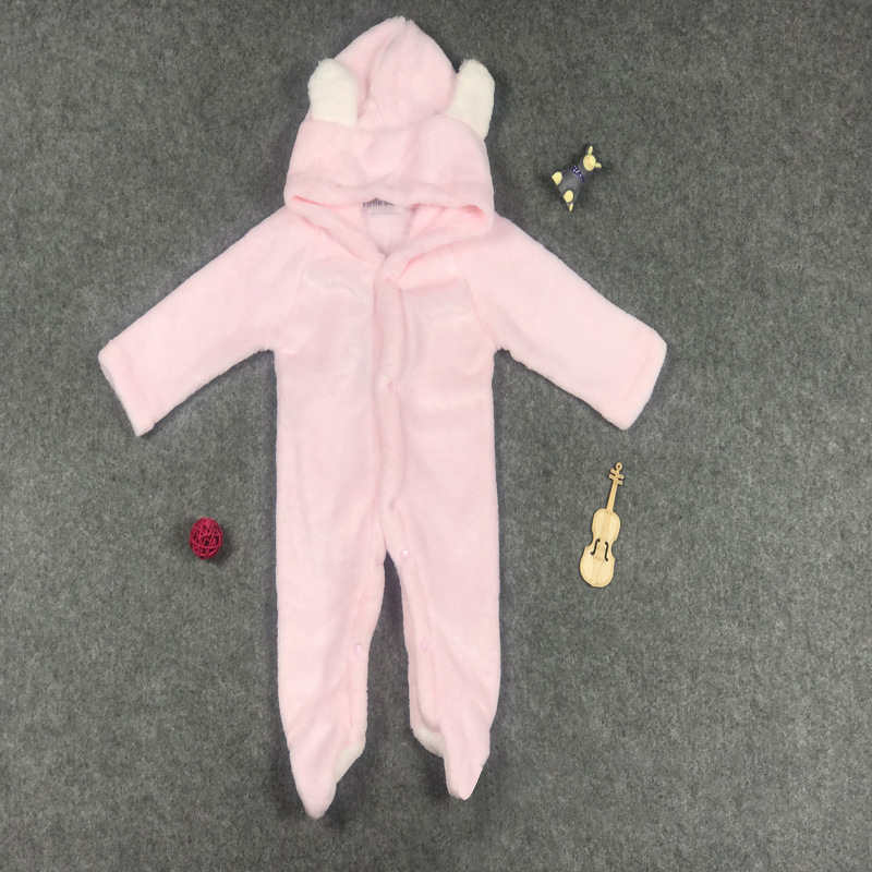 e16b4a31e Baby Newborn Baby Clothes Bear Onesie Baby Girl Boy Rompers Hooded ...