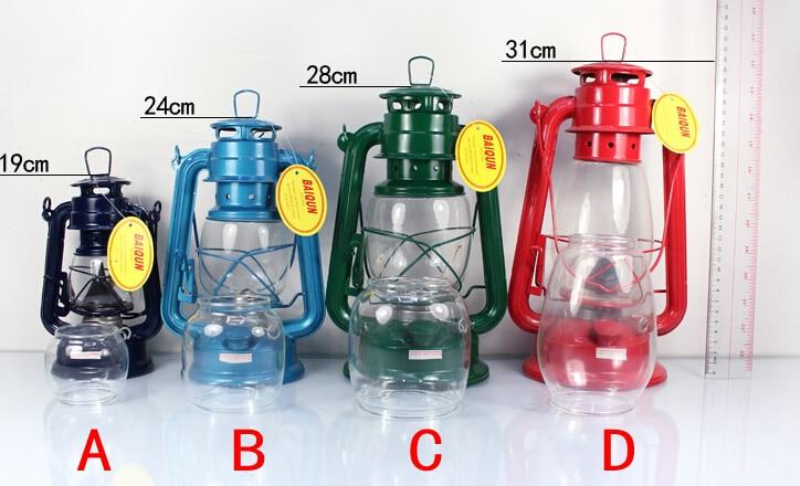 2019 High Quality Iron Vintage Kerosene Lamp Lantern Camping Portable Lamp Masthead Light Well-Known Brand Retro Oil Lamp