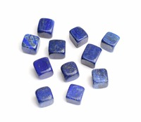 1 2 Lb Natural Tumbled Lapis Lazuli Carved Cube Crystal Reiki Healing Stones