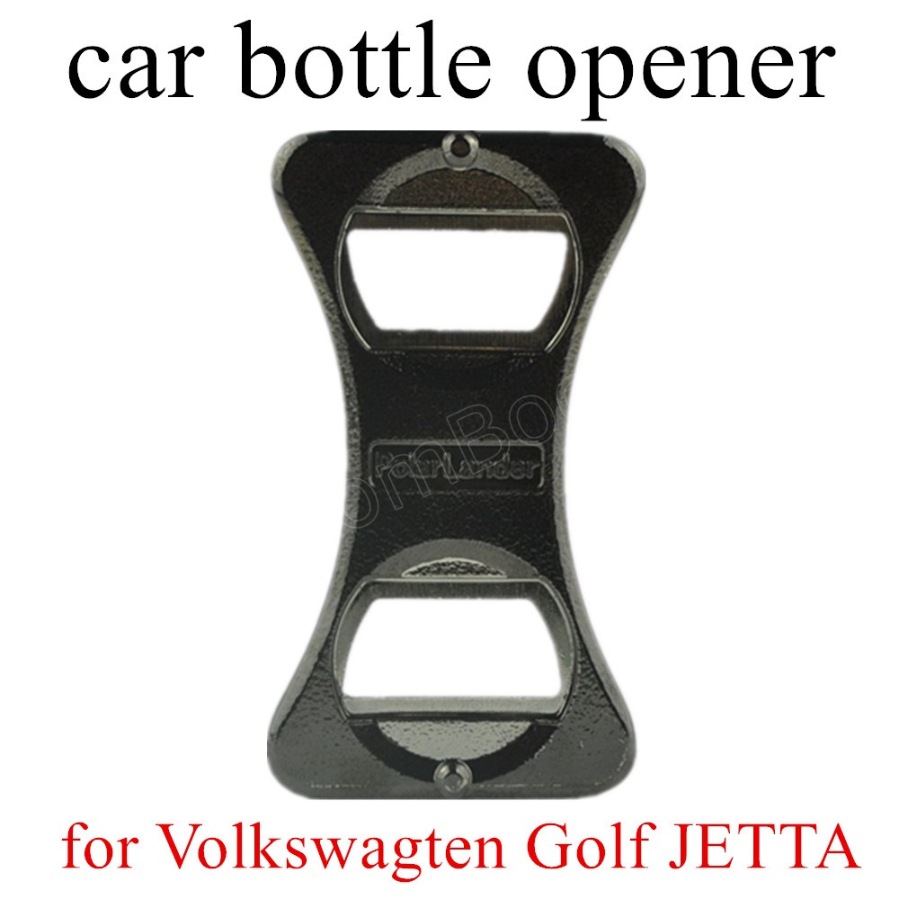 Stainless Steel Bottle Portable Beer Opener Gifts Bar Wine Bottle Opener for Volkswagen for Golf 5 6 for Jetta for VW MK5 R32/R