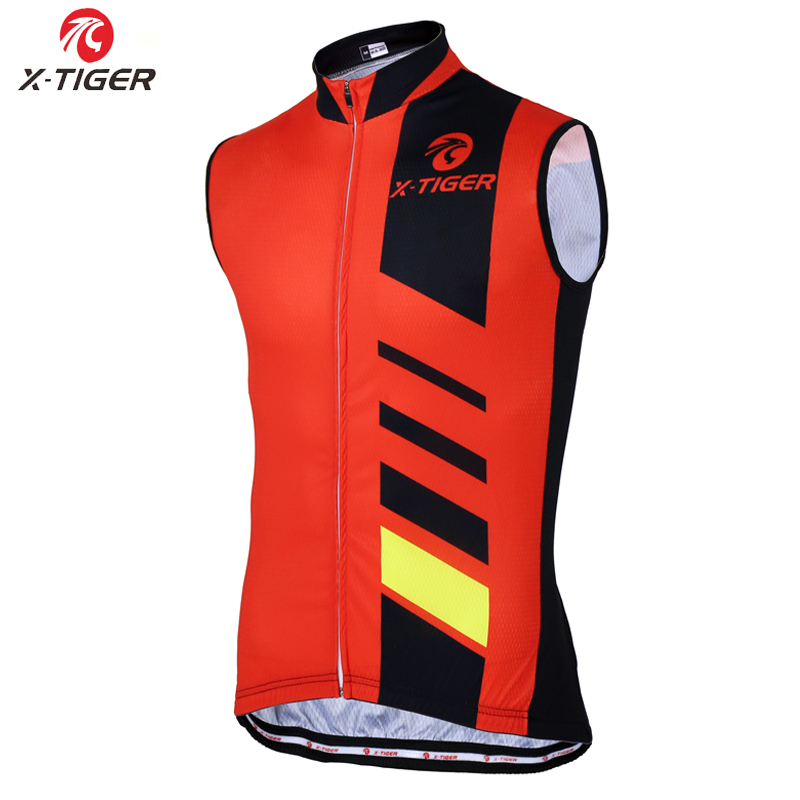 X-Tiger 2020 Sleeveless Pro Cycling Vest Summer Quick-Dry Mountain Bike Clothes Pro Racing Bicycle Clothing For Men