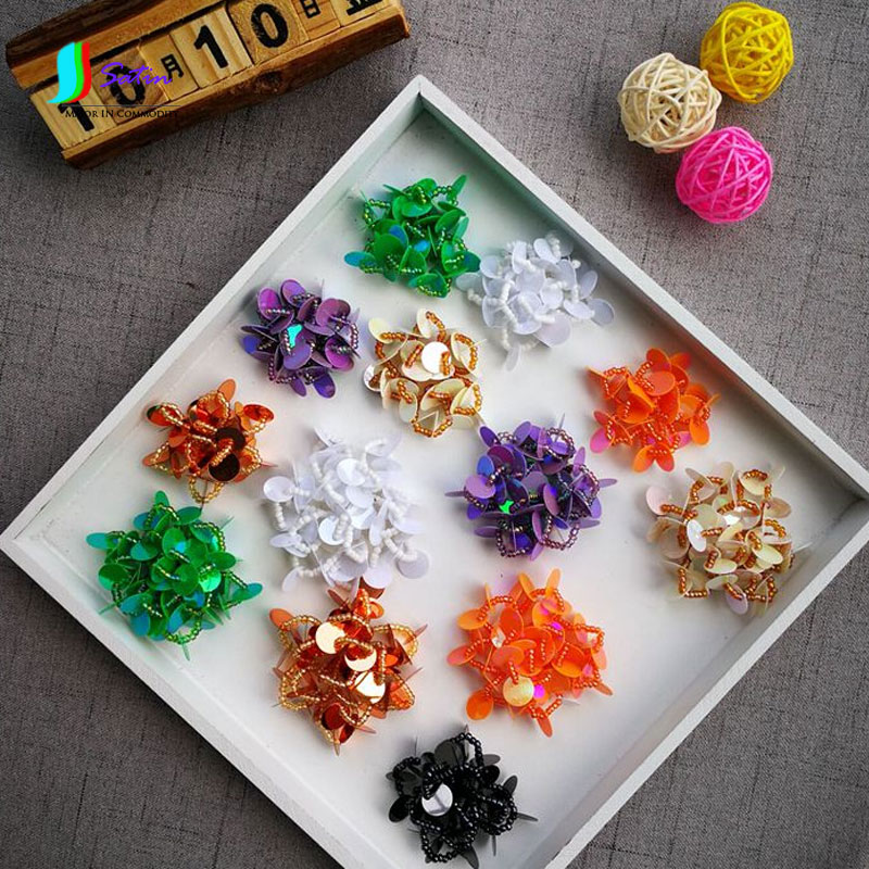 Home & Garden Diy Craft Supplies Colorful Candy Color Diy Handmade Nail Bead Decoration Cloth Paste Sequin Flowerclothing Package Shoe Cloth Paste 4cm 5cm S041p Activating Blood Circulation And Strengthening Sinews And Bones