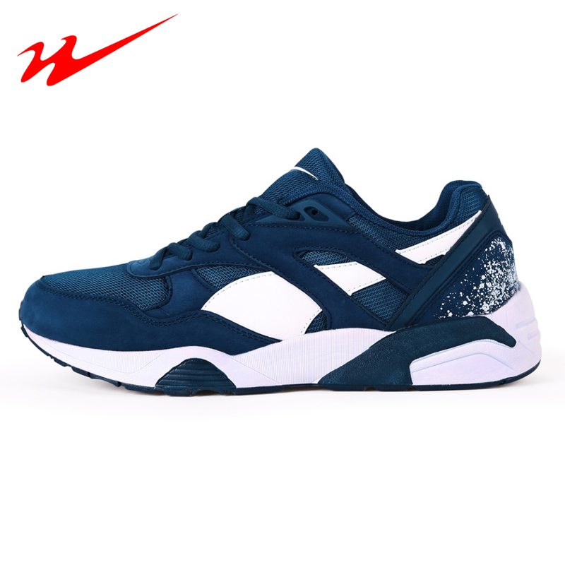 DOUBLESTAR Women Men Running Shoes Breathable Leisure Walking Mesh Sneakers Outdoor Sports Shoes Breathable Running Shoes